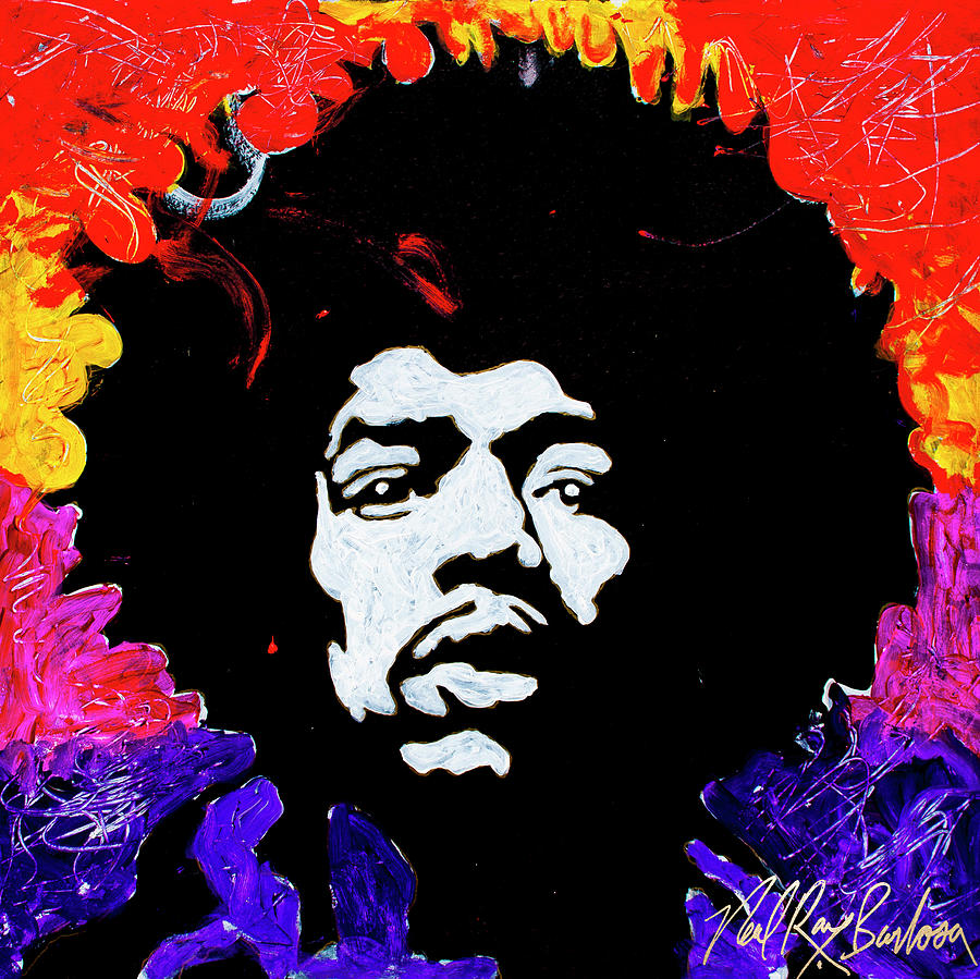 Hendrix Mania by Neal Barbosa