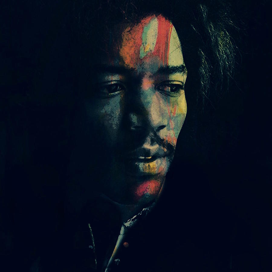 Jimi Hendrix Digital Art - Hendrix  by Paul Lovering