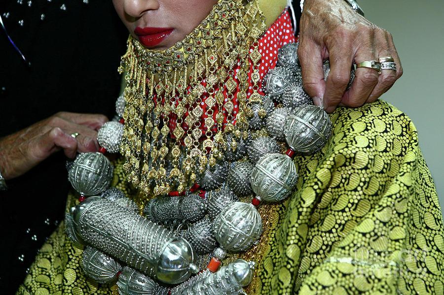 Henna Photograph - Henna Ceremony  by Chen Leopold