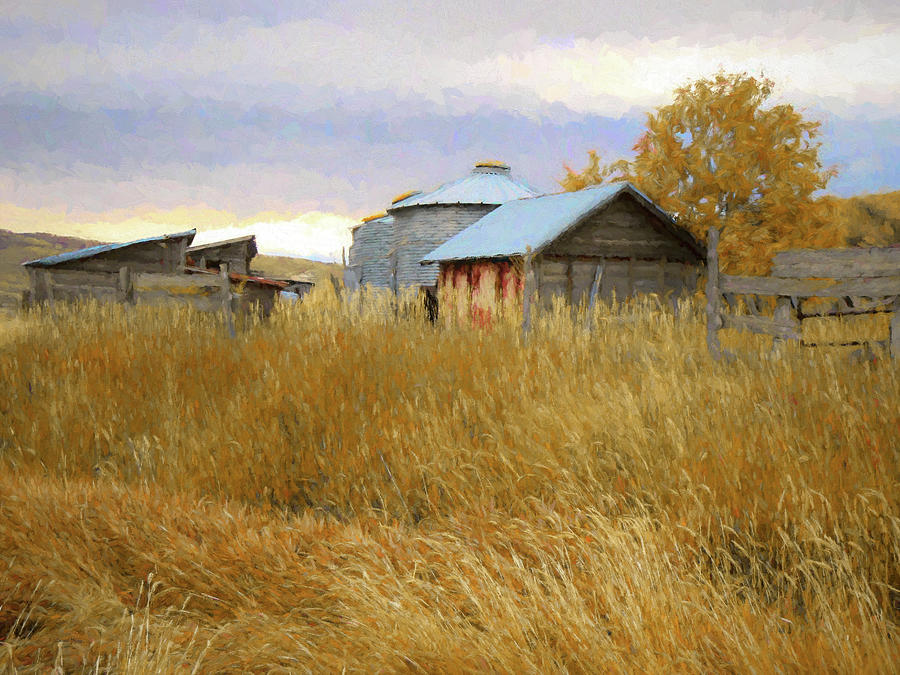 Landscape Digital Art - Hennefer Autumn by David King