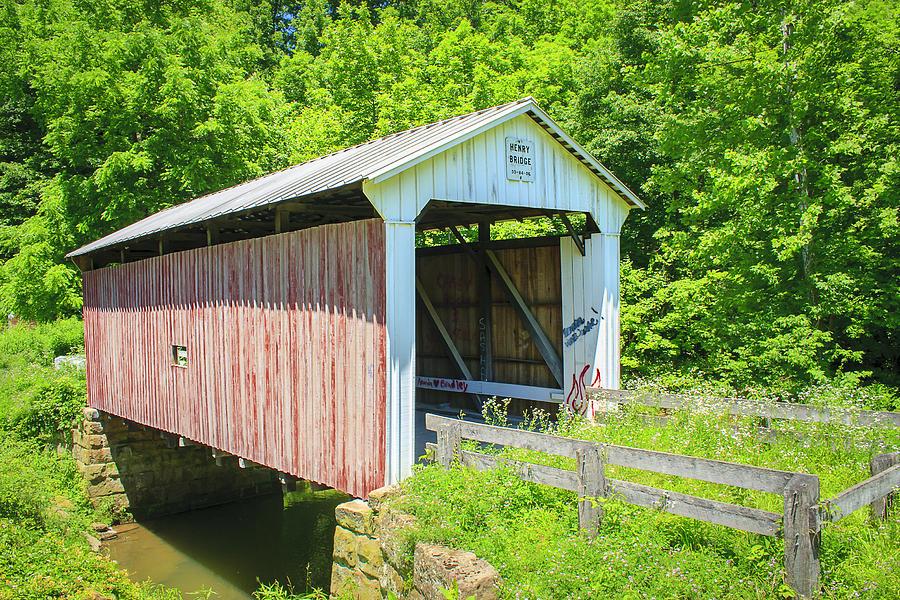 Henry Covered Bridge Photograph