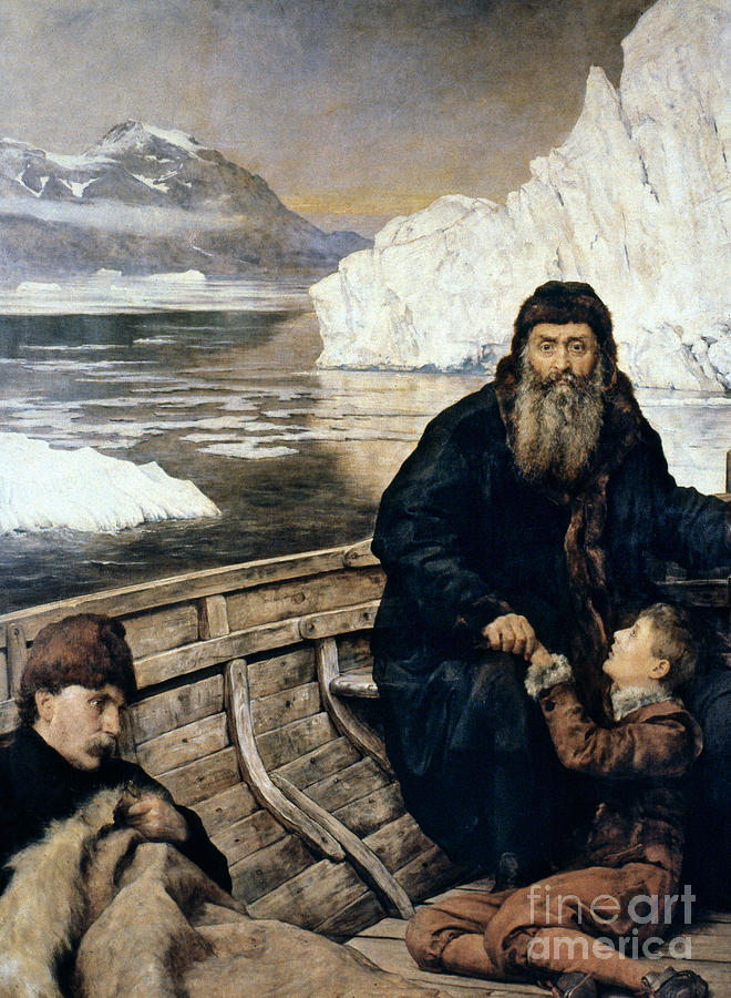 1611 Painting - Henry Hudson And Son by Granger