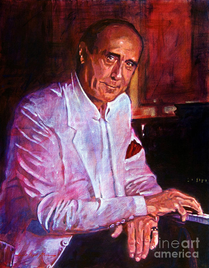 Henry Mancini Painting - Henry Mancini by David Lloyd Glover