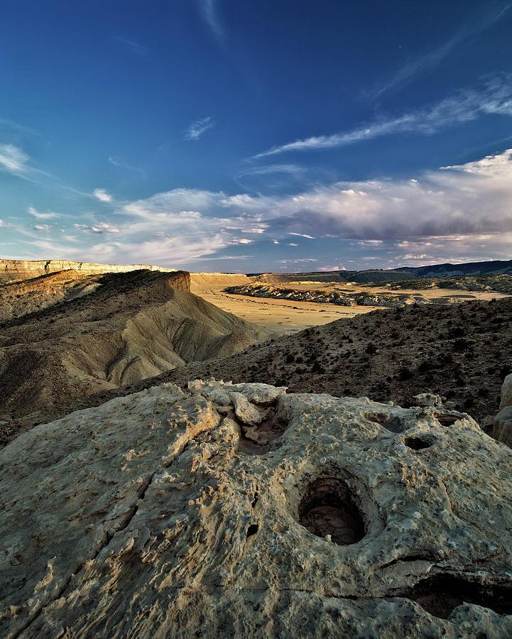 Utah Photograph - Henry Mountain Wsa by Leland D Howard