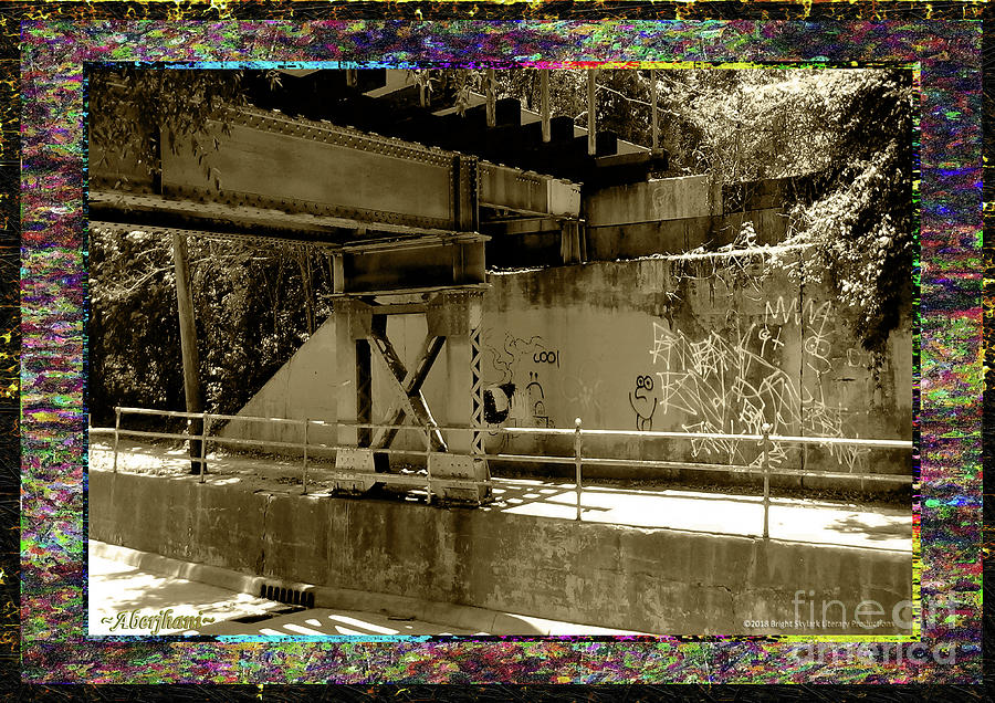 Sepia Photograph - Henry Street Underpass Number 2 by Aberjhani