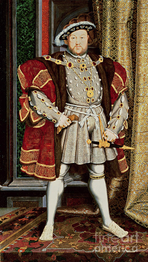 Henry Viii Painting - Henry Viii by Hans Holbein the Younger