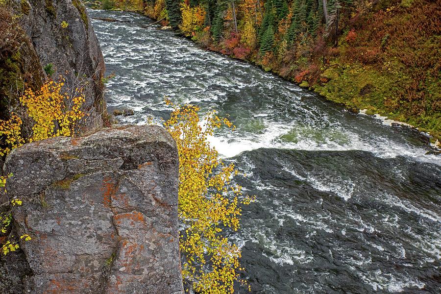 Henrys Fork River by Alex Galkin