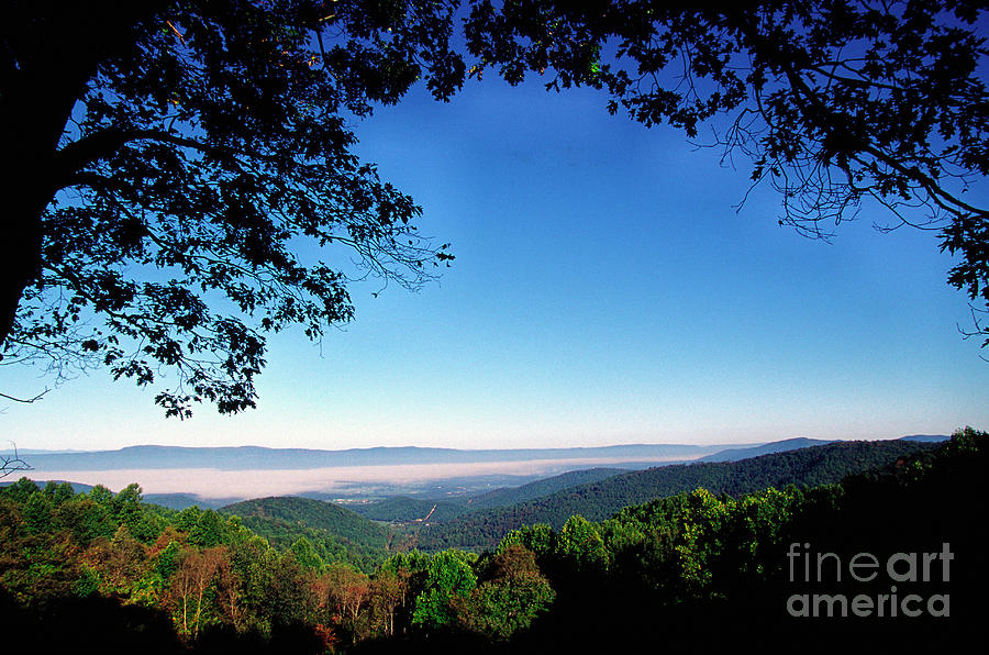 Virginia Photograph - Hensley Hollow Overlook by Thomas R Fletcher