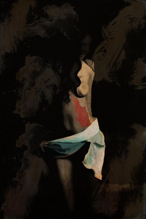 Woman Digital Art - Her Body by Ivan Gomez