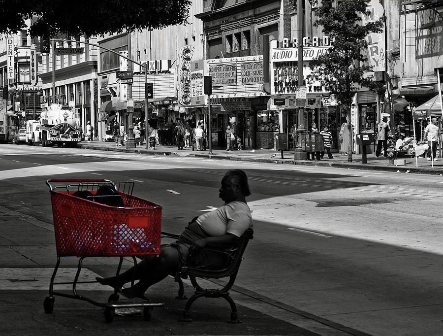 Her Red Cart by Lorraine Devon Wilke