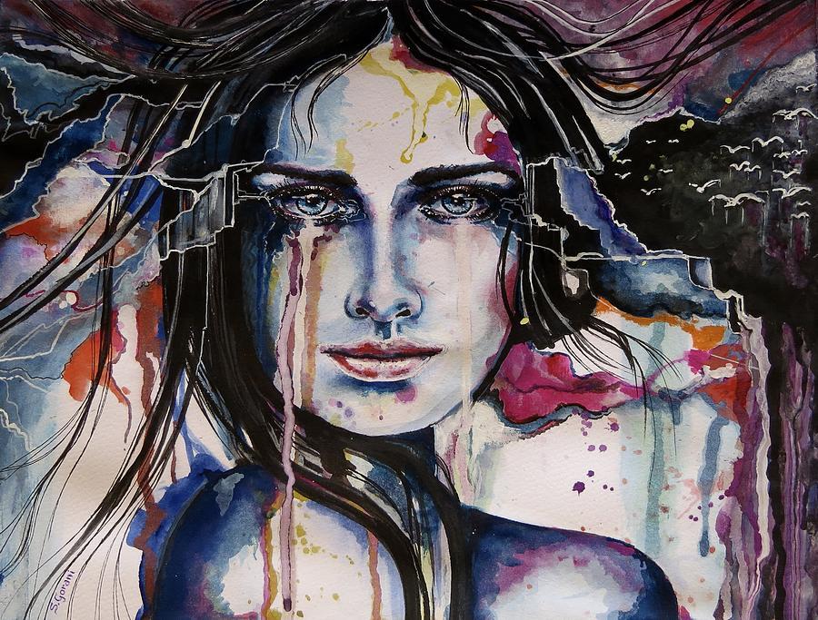 Paintings Painting - Her Sacrifice by Geni Gorani
