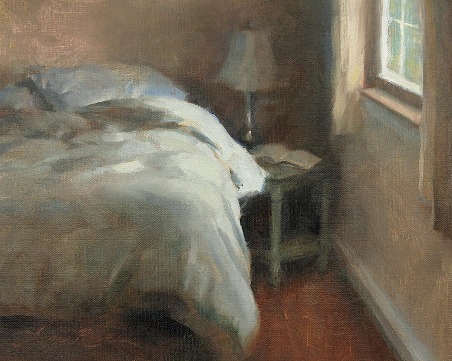 Interior Painting - Her Side by Anna Rose Bain