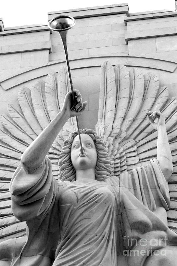 Angel Photograph - Herald Angel by Jeannie Burleson