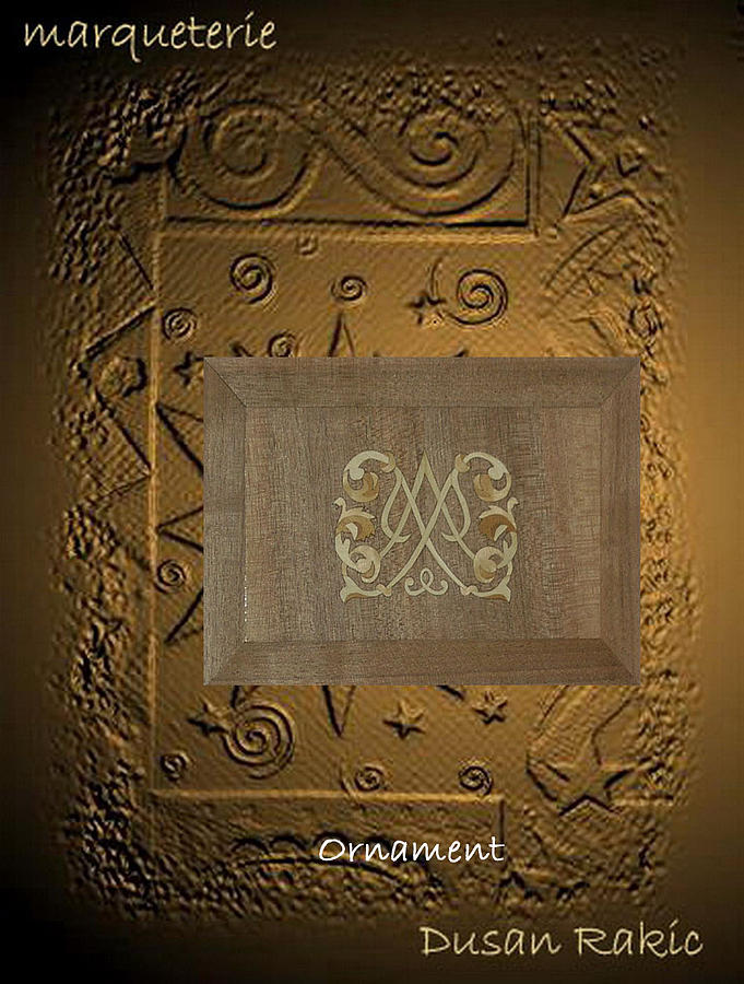 Ornament Mixed Media - Heraldry Ornament by Dusan Rakic