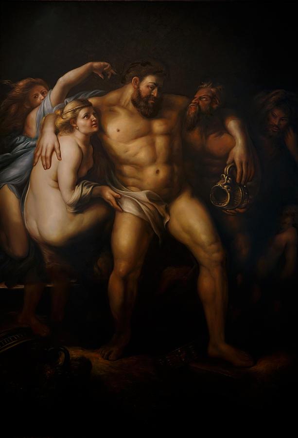 Hercules after Peter Paul Rubens by Giorgio Tuscani