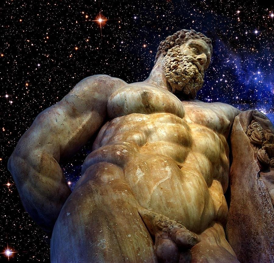 Hercules Digital Art - Hercules by Valeriy Mavlo