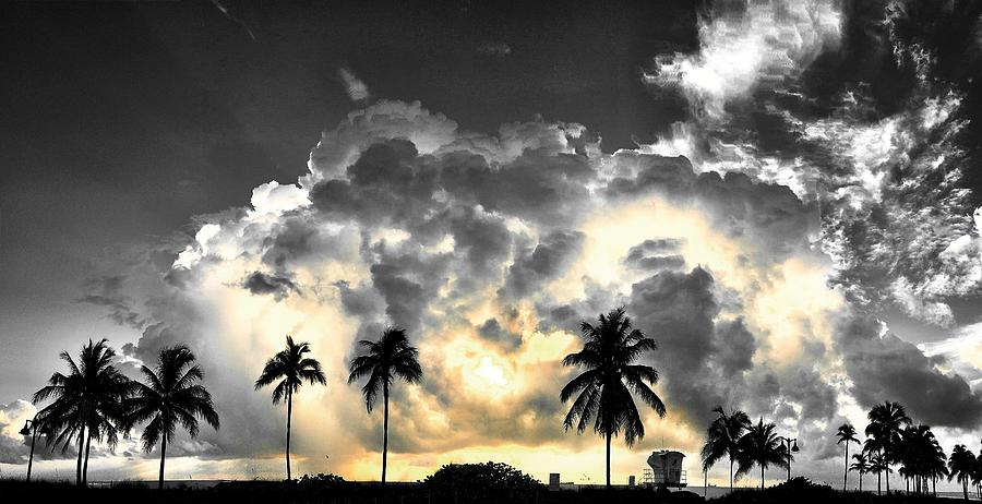 Clouds Photograph - Here Comes The Sunny by Andrew Royston