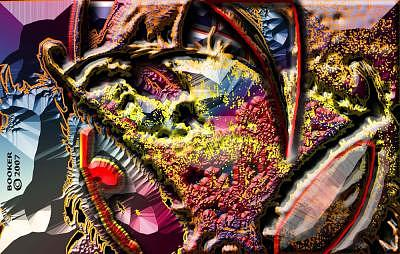 Contemporary Digital Art - Here S  Lookin  At  Ya  Kidd by Booker Williams
