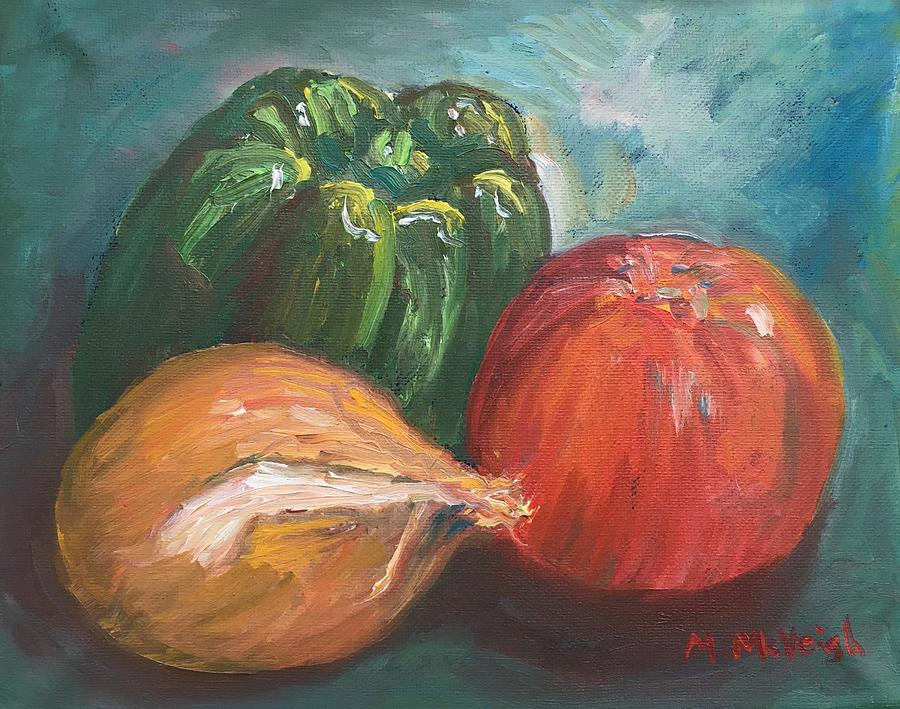 Still Life Painting - Here Today, Gone Tomorrow by Marita McVeigh