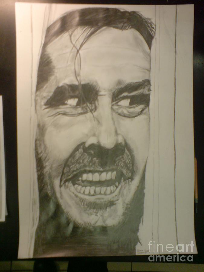 Portrait Drawing - Heres Jonny by Emma Croydon