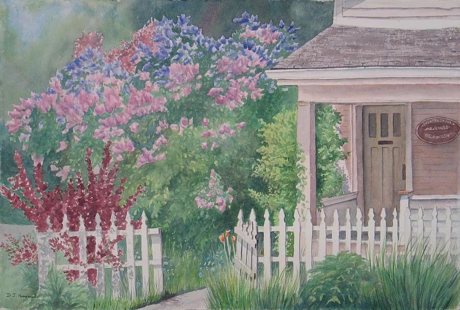 Heritage Painting - Heritage House by Debbie Homewood