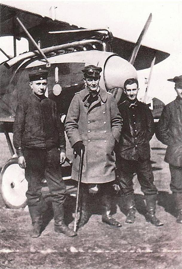 Herman Goring Ww1 Aviator Number One Circa 1918 Photograph