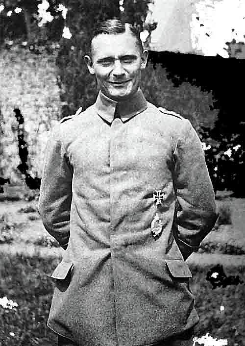 Herman Goring Ww1 Aviator Number Three Circa 1918 Photograph