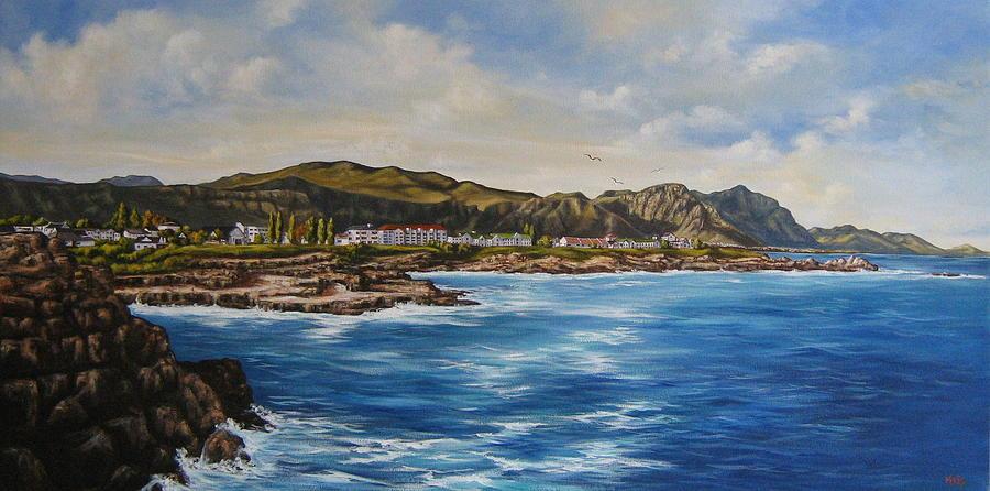 Seascape Painting - Hermanus South Africa by Marius Prinsloo