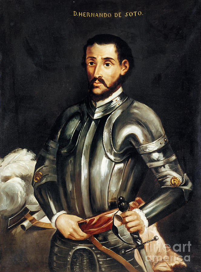 16th Century Painting - Hernando De Soto by Granger