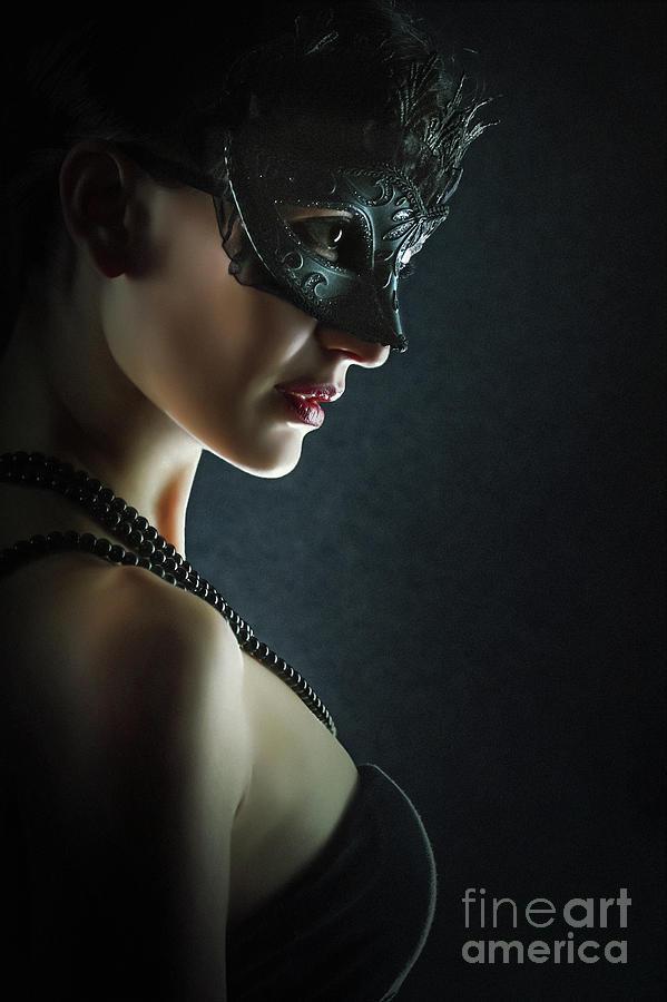 Fashion Photograph - Hero Fashion Eye Mask by Dimitar Hristov