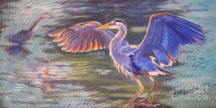 Heron Majesty by Janet McDonald
