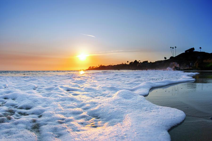 Beach Sunset Photograph - Hesler Sunset by Sean Davey
