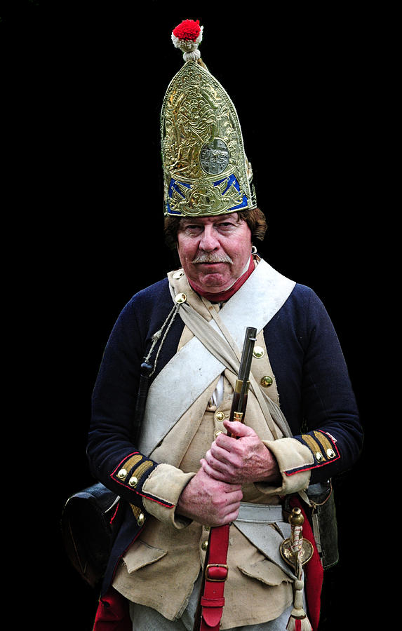 Hessian Photograph - Hessian Grenadier by Dave Mills