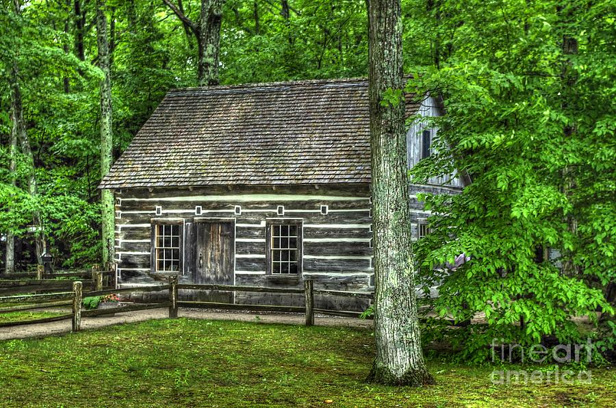 Hessler Log Cabin by Randy Pollard