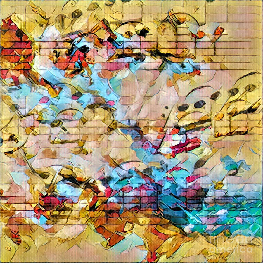 Music Digital Art - Heterophony Squared 3 by Lon Chaffin