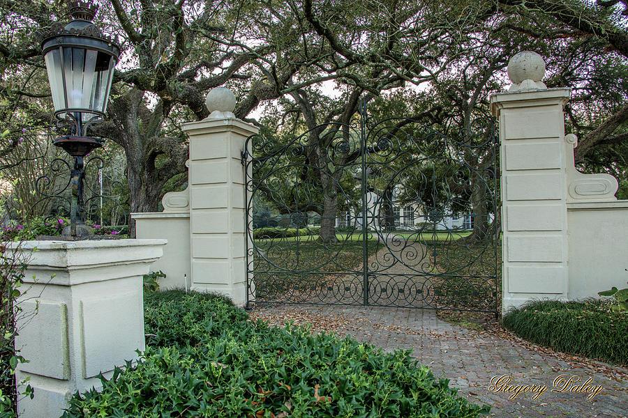 Heyman House Gates Photograph by Gregory Daley  MPSA