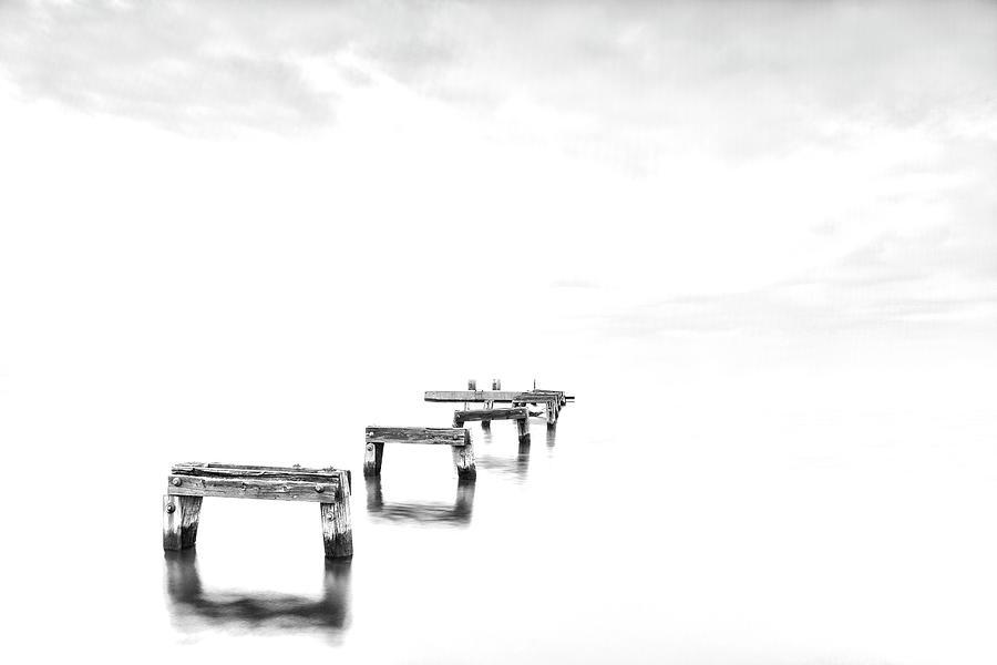 Hi Key Photograph - Hi Key Morning by Edward Kreis