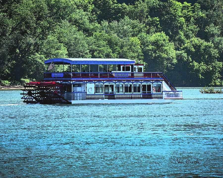 Hiawatha River Boat by Chris Busch