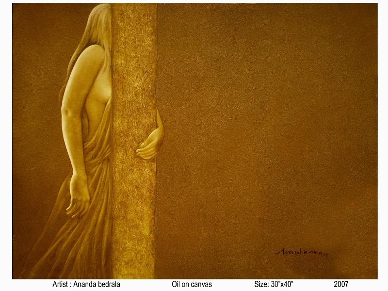 Hidden Beauty Painting by Anand Bedrala