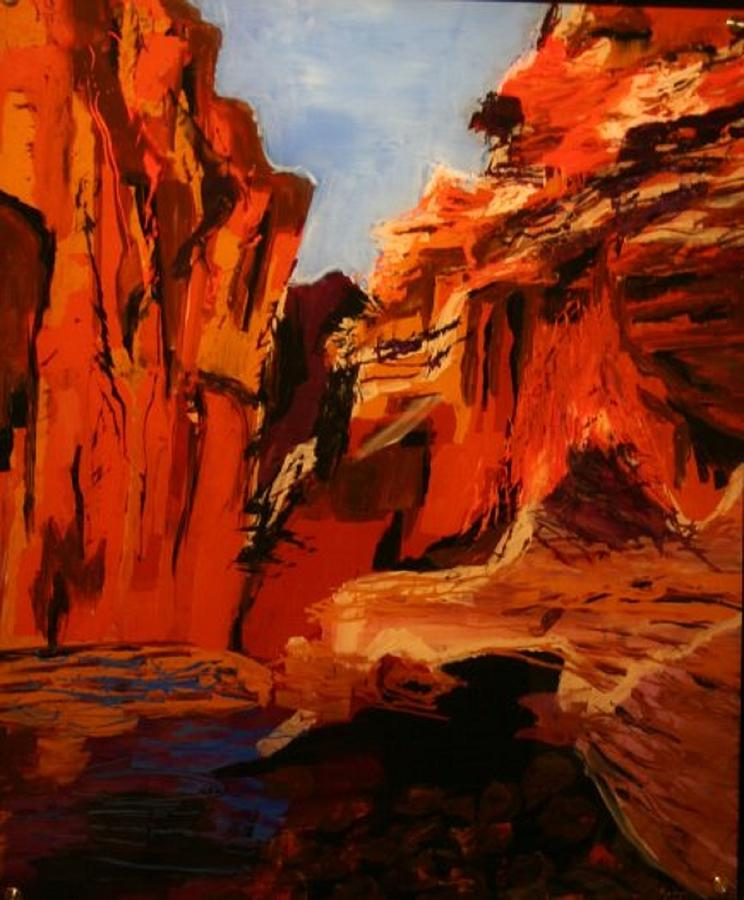 Hidden Canyon by Marilyn Quigley