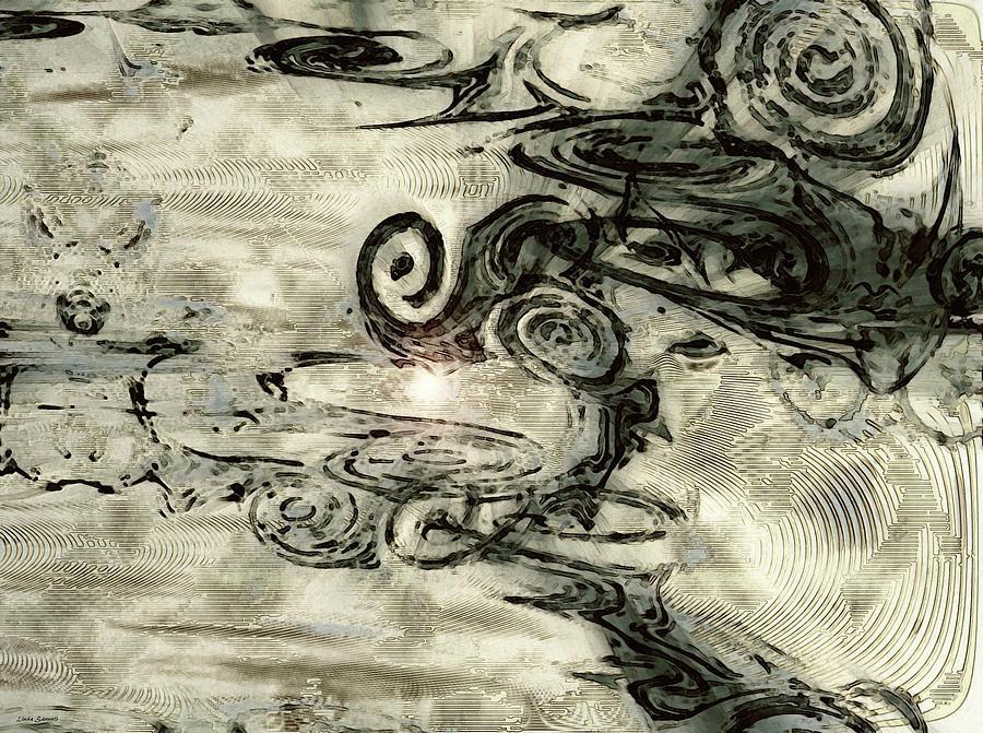 Abstracts Digital Art - Hidden Dreams by Linda Sannuti