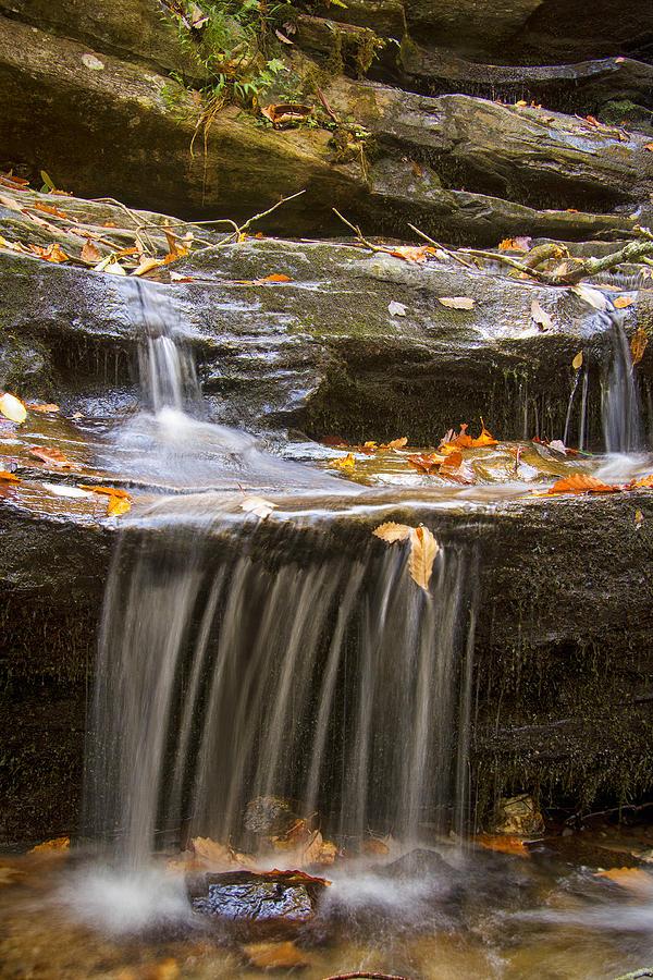 Hidden Falls Detail Photograph