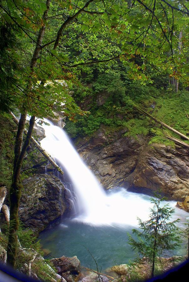Waterfall Photograph - Hidden Falls by Marty Koch