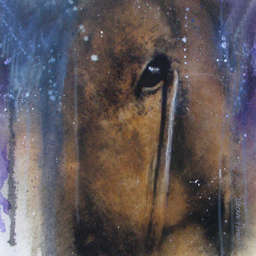 Hidden horse by Jackie Flaten