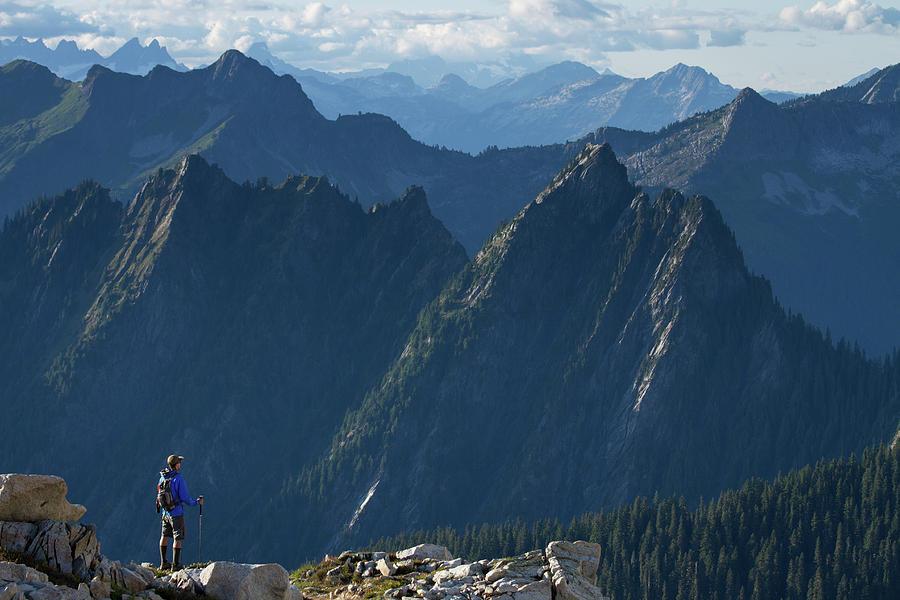 North Cascades National Park Photograph - Hidden Lake // North Cascades National Park, Washington by Kirsten Dale