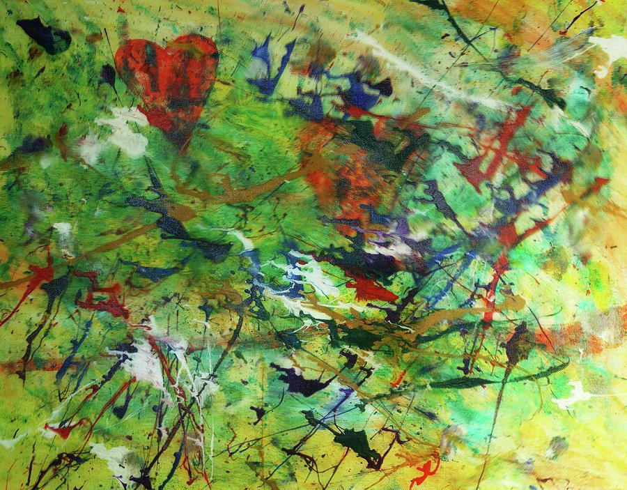 Paint Painting - Hidden Love by Adam LeCroy