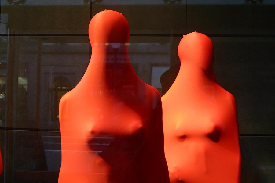 London Photograph - Hidden Nipples by Jez C Self