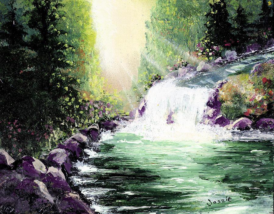 Hidden Painting - Hidden Paridise by Just Joszie