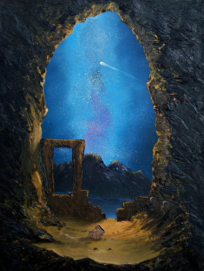Hidden Treasures Painting by Patrick Trotter