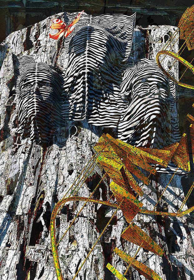 Abstract Digital Art - Hidden Truth by Haruo Obana